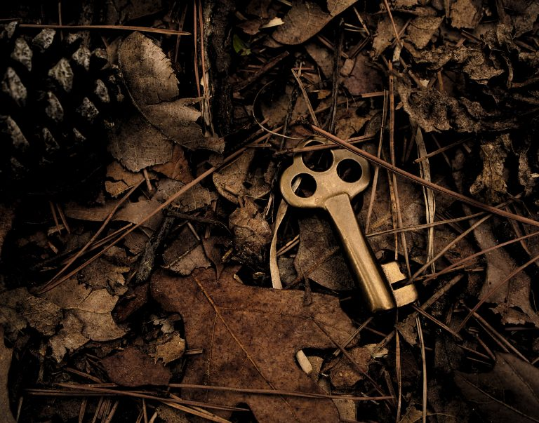 Key on the ground